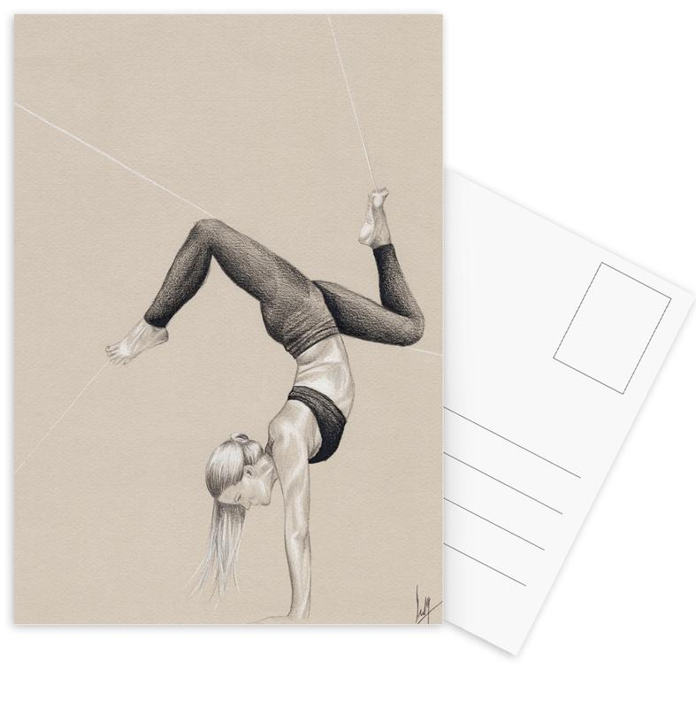 Yoga, Yoga 3 Postcard Set