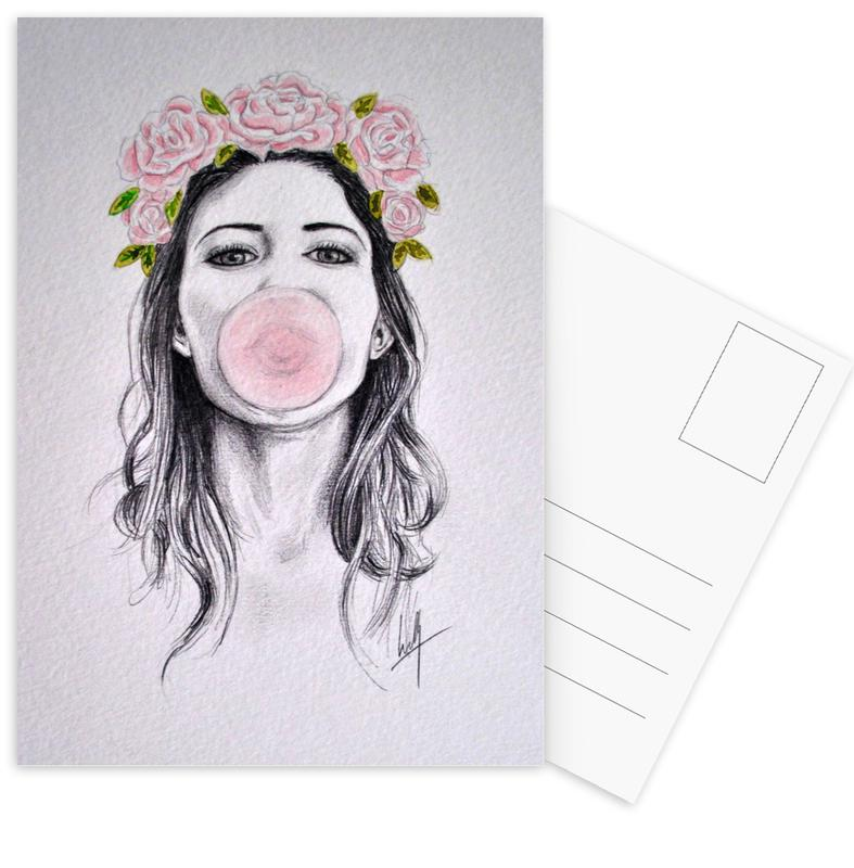 Bubblegum Postcard Set