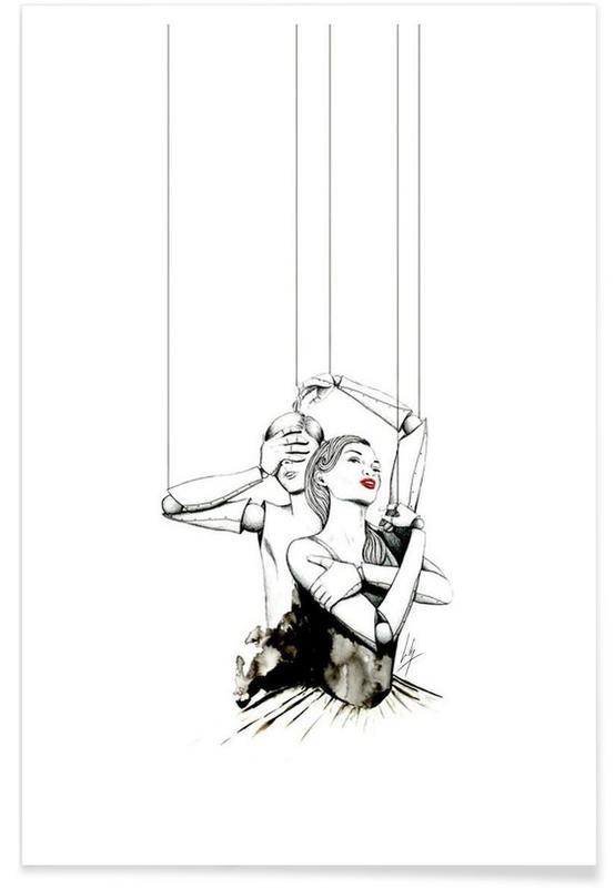 Noir & blanc, Embrace affiche