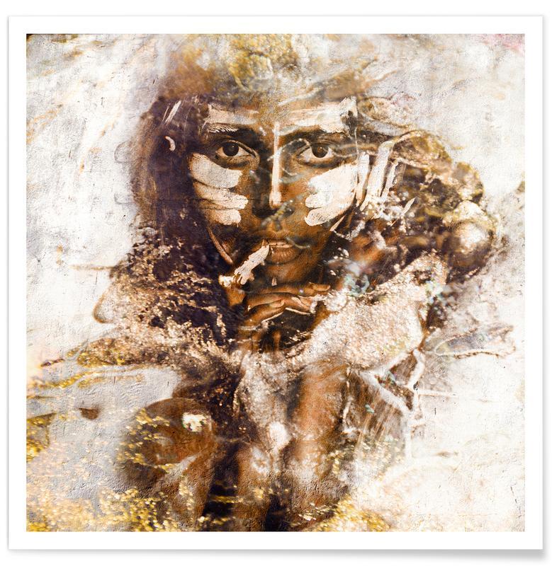 Portretten, Akuni poster