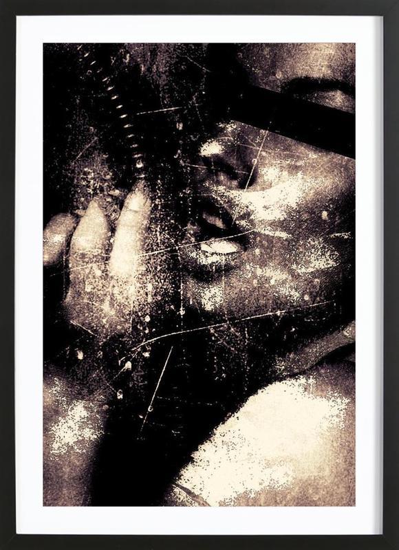 Call on me Framed Print