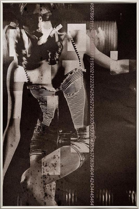 Daizy Poster in Aluminium Frame