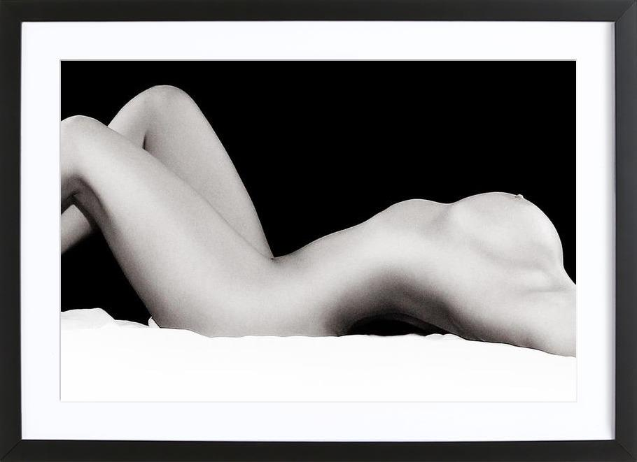Die Halbe Frau Framed Print