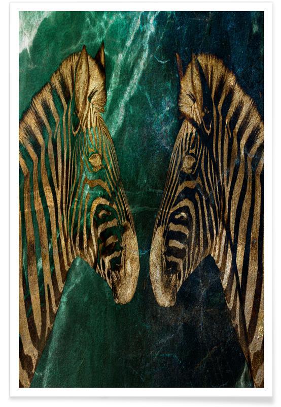 Zebras, Zebs Poster