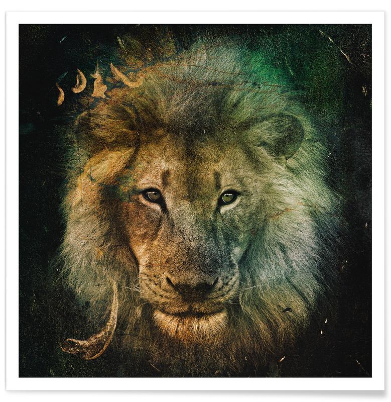 Leeuwen, Simba poster