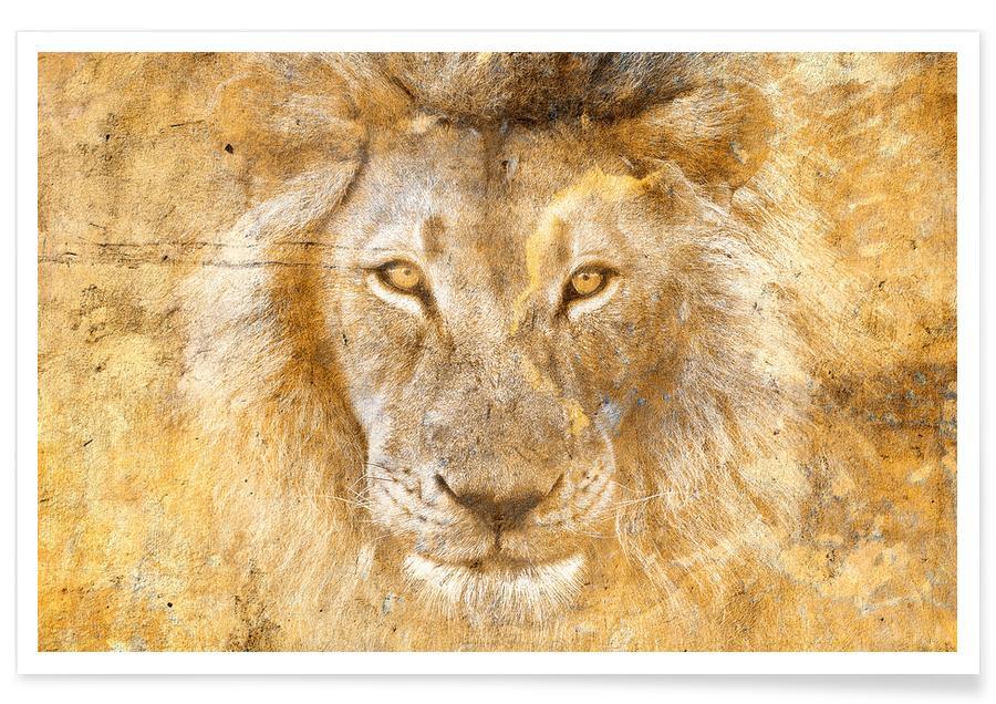 Golden Simba Poster