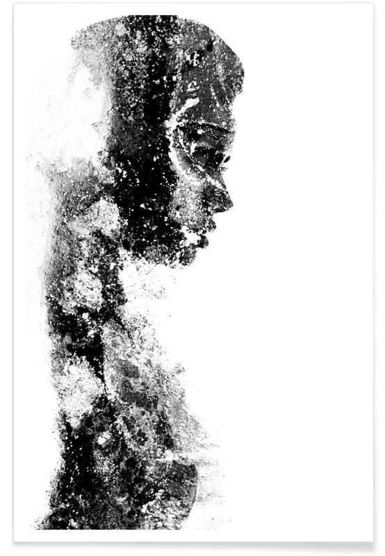 Portretten, Zwart en wit, Magnetism 1 poster