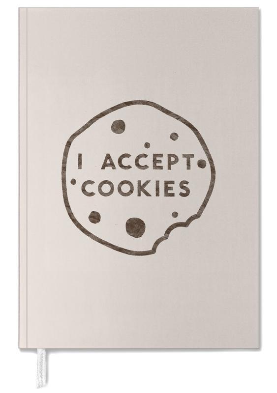 Zitate & Slogans, I Accept Cookies -Terminplaner