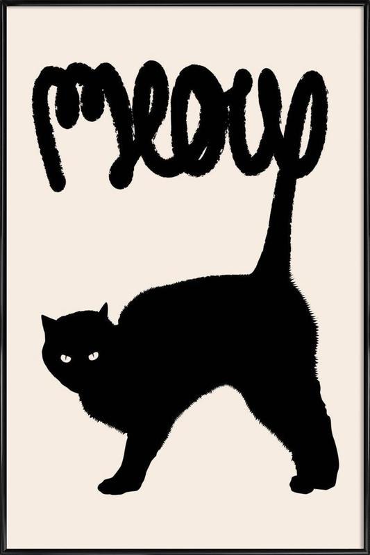 Meow Framed Poster