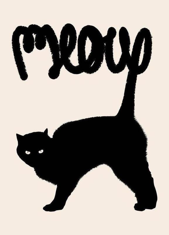 Meow toile