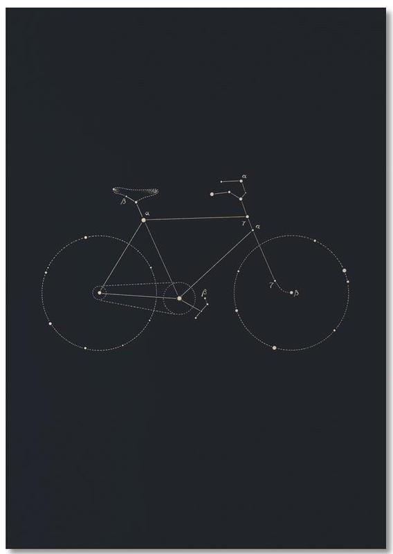 Fahrräder, Bike Constellation -Notizblock