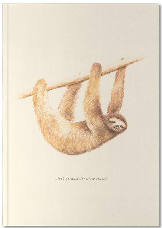 Paresseux, Sloth Notebook