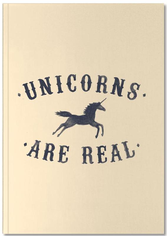Humour, Licornes, Unicorns Are Real I Notebook