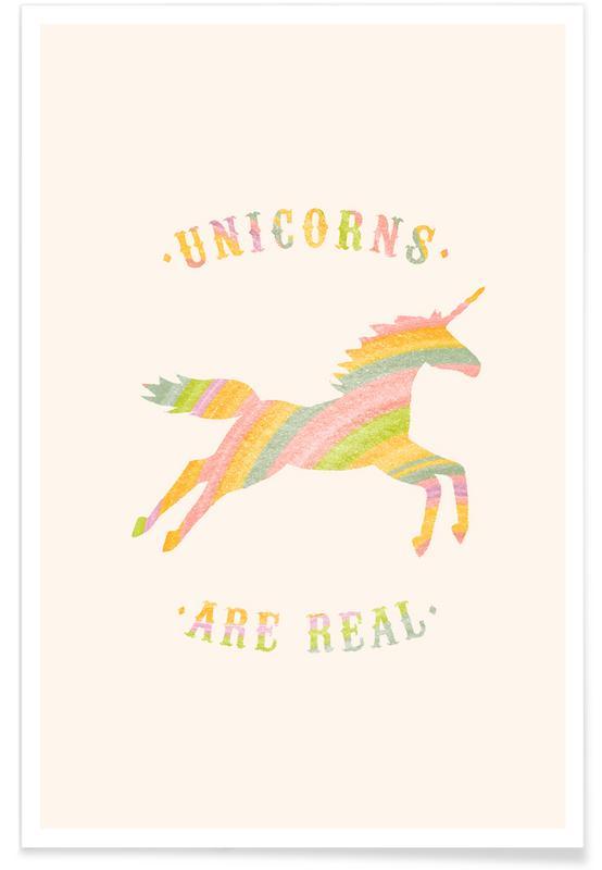 Humour, Licornes, Unicorns Are Real II affiche