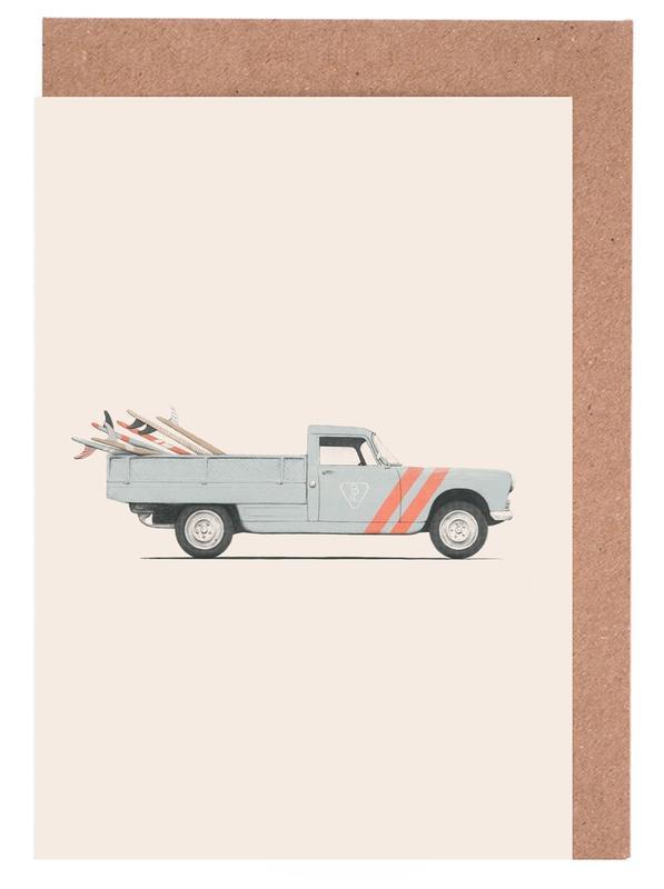 Pick Up -Grußkarten-Set