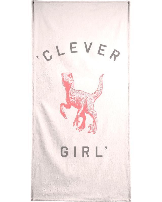 Clever Girl Bath Towel