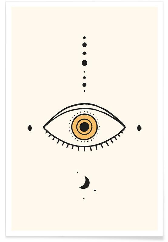Symbolen, Eye Moon poster