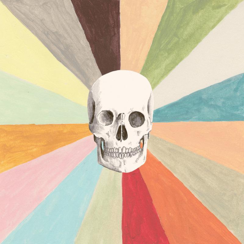 Skull is Cool toile