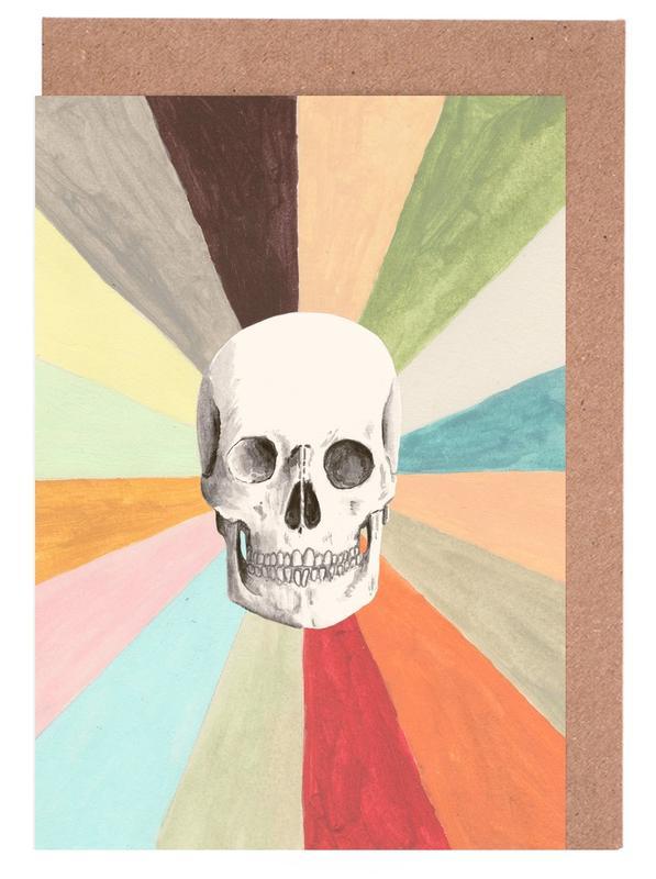 Skull is Cool cartes de vœux