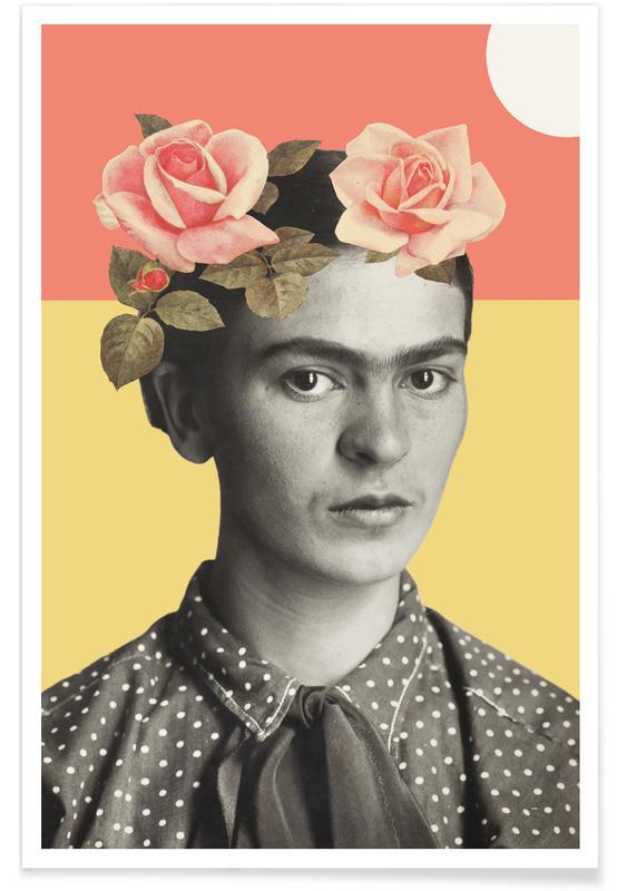 Roses, Frida Kahlo, Frida Poster
