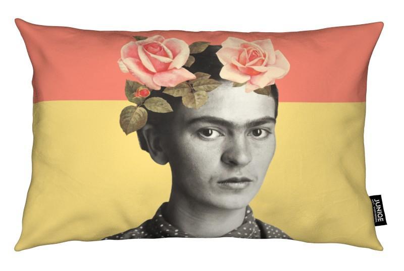 Frida Kahlo, Roses, Frida coussin