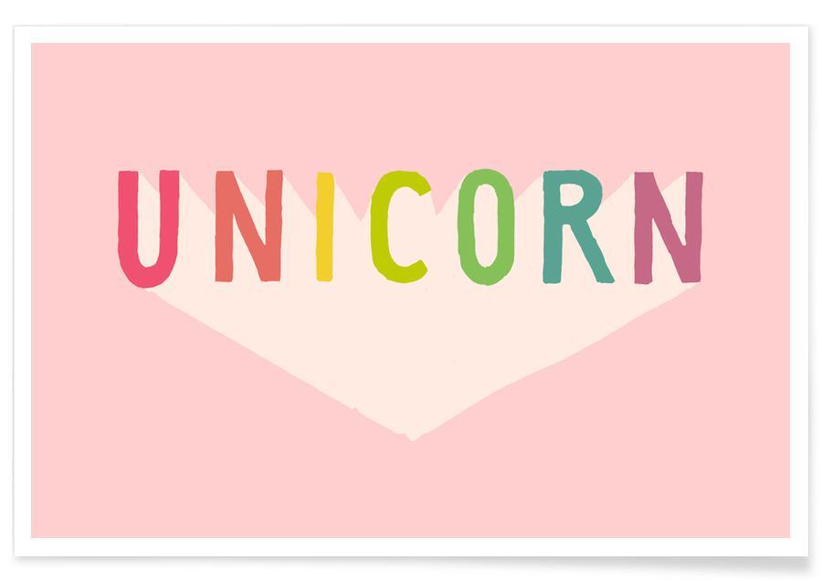 Enhjørninger, Unicorn Plakat