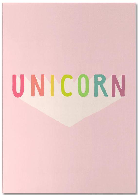 Unicorn -Notizblock
