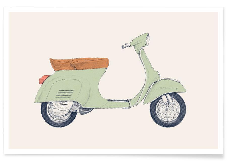 Motos, Vespa affiche