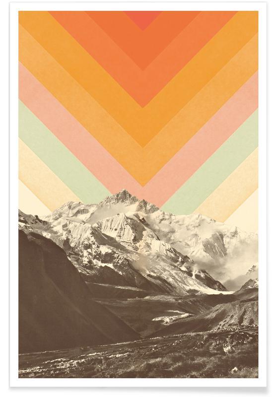 Mountainscape 2 affiche