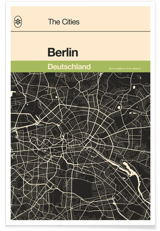 Pinguine, Berlin, Berlin - Penguin -Poster