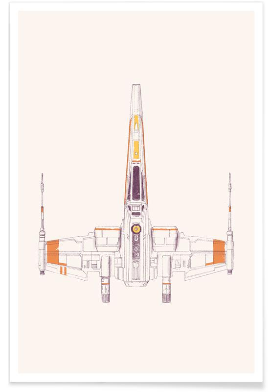 X Wing Poster