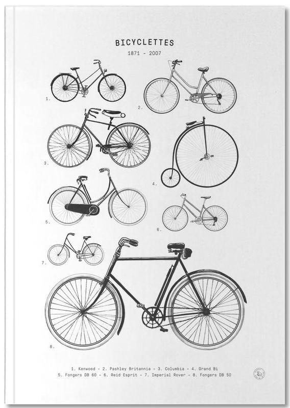 Fahrräder, Bicyclettes Notebook