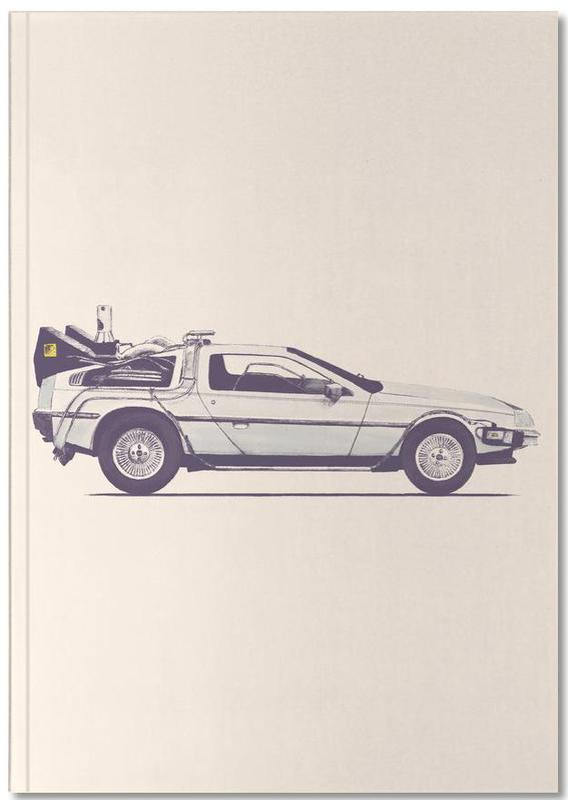Delorean - Back to the Future Notebook