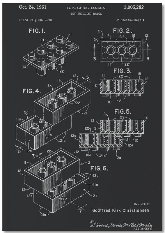 Lego PRINT WB Notebook
