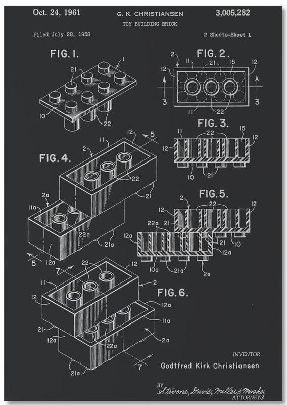 Lego PRINT WB Notepad