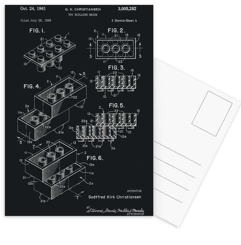 Lego PRINT WB Postcard Set