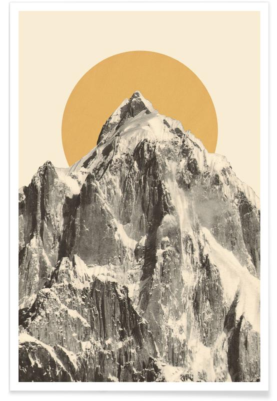 Montagnes, Mountainscape 5 affiche