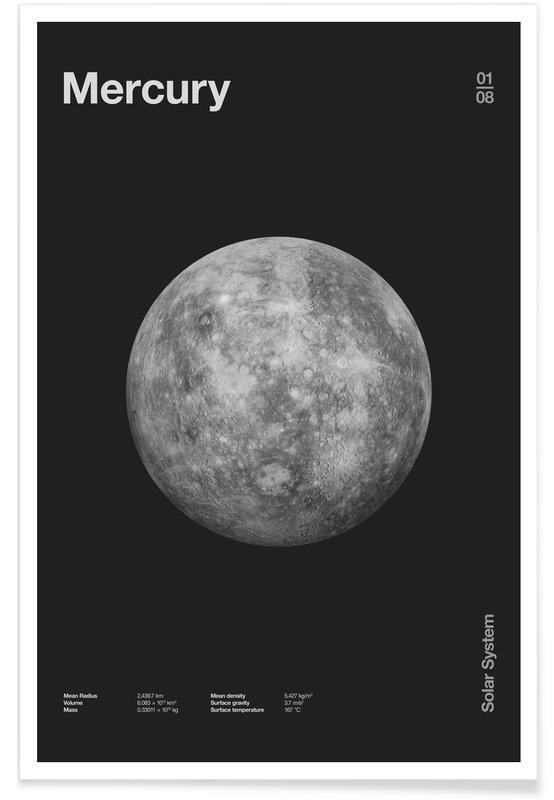 Schwarz & Weiß, Mercury -Poster