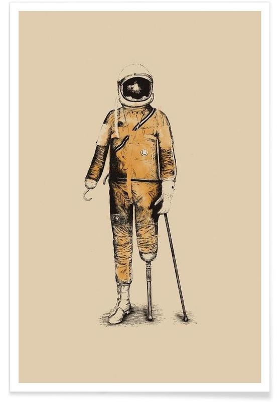 Astronauten, Astropirate poster