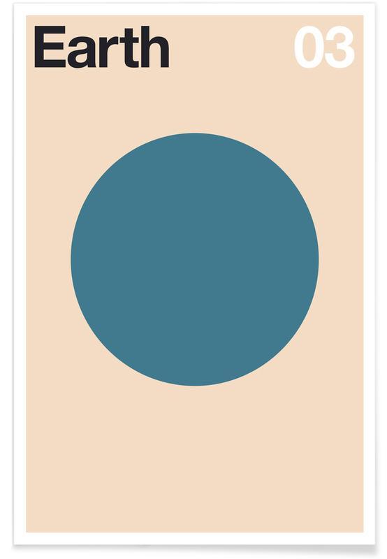 Erde, Earth 03 -Poster