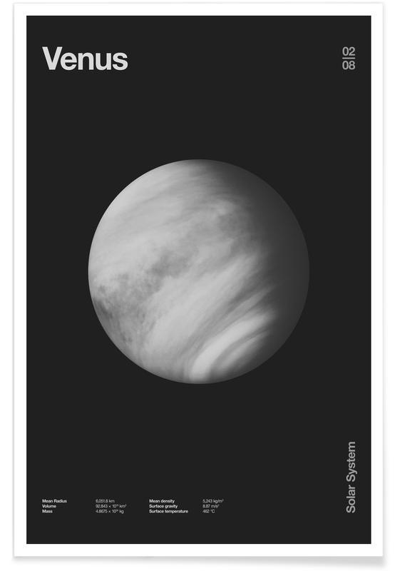Schwarz & Weiß, Venus -Poster