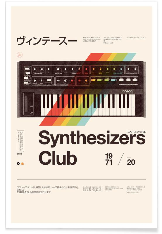 , Synthe Club Print -Poster