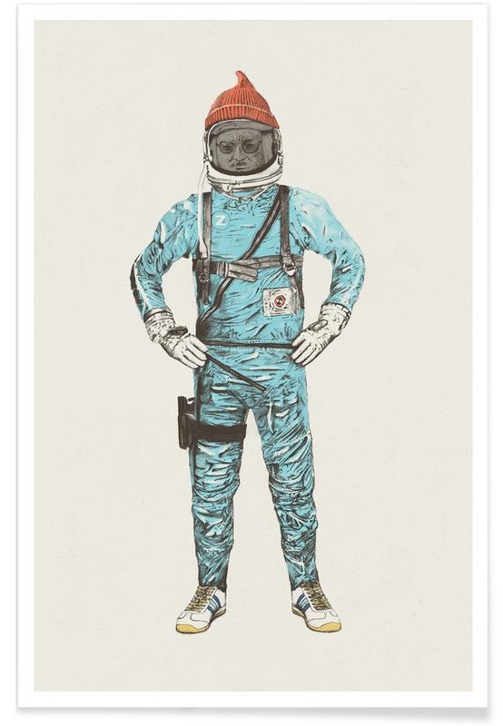 Zissou in Space Poster