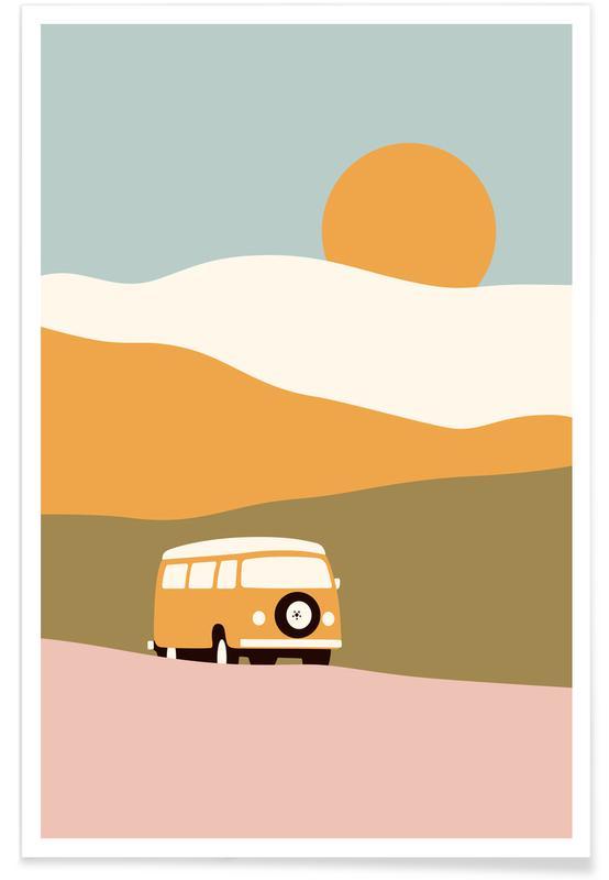 Cars, Van Minimal Poster