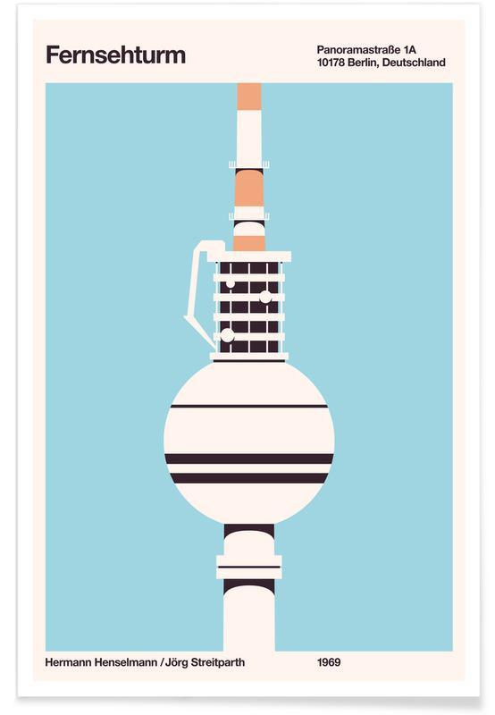 Architectural Details, Fersehturm Poster