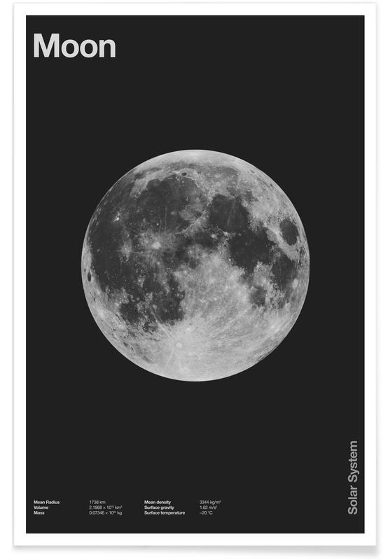 , Moon poster