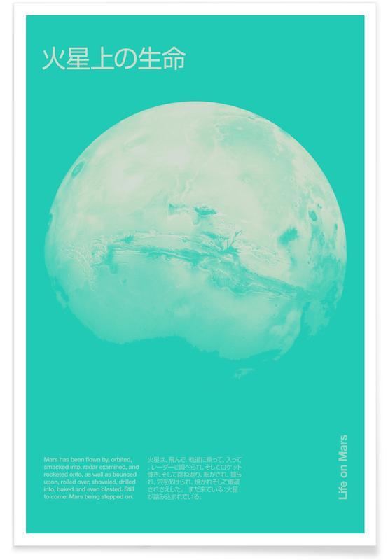 Astronauts, Mars 2 Poster