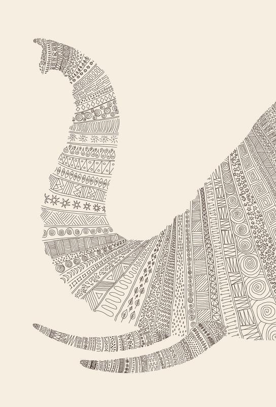 Elephant 01 Acrylic Print