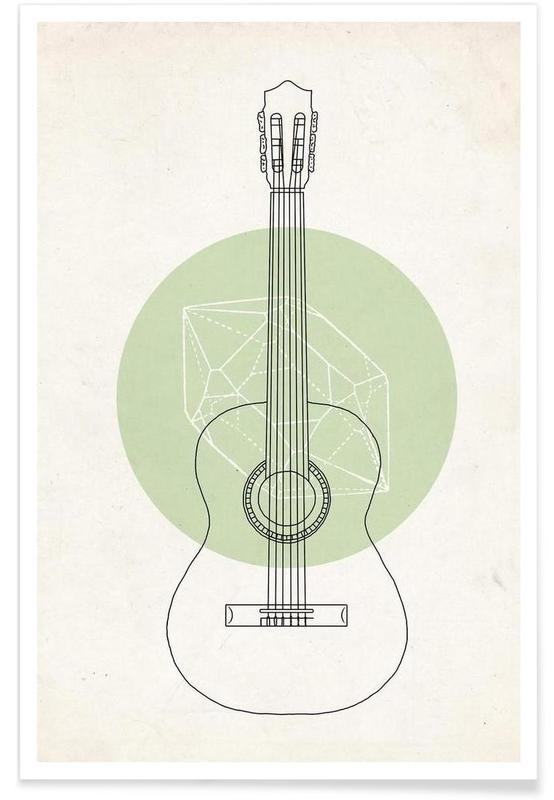 Guitar, Guitar Poster