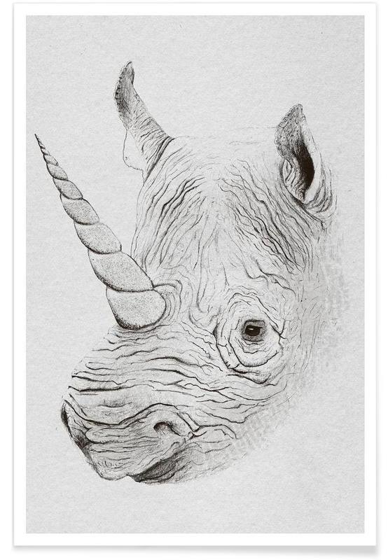 Næsehorn, Rhinoplasty Plakat